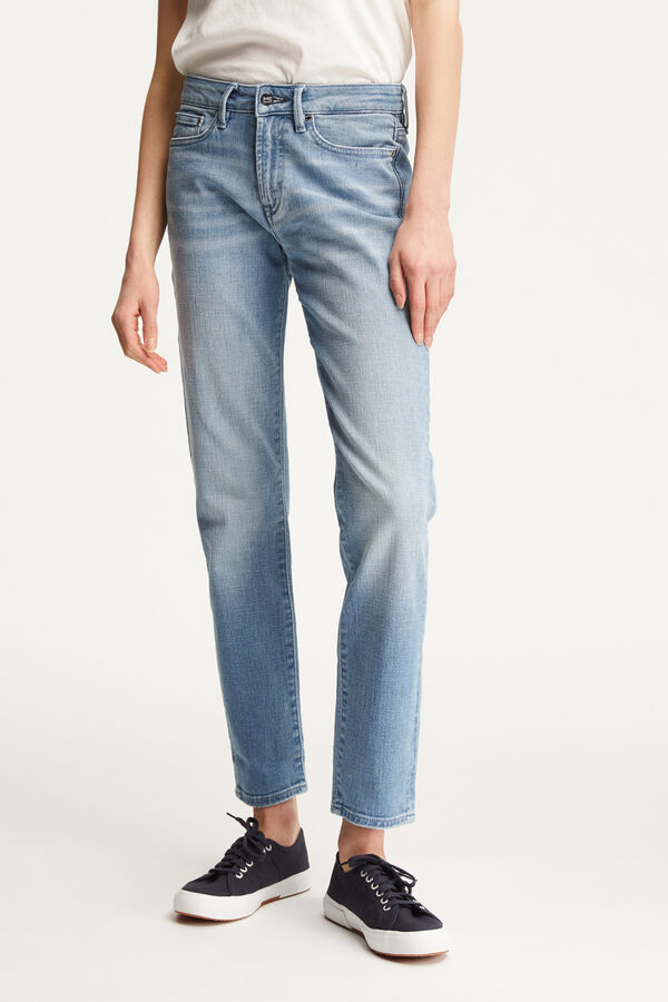 JOLIE Light Blue Denim - High-Rise, Straight Fit