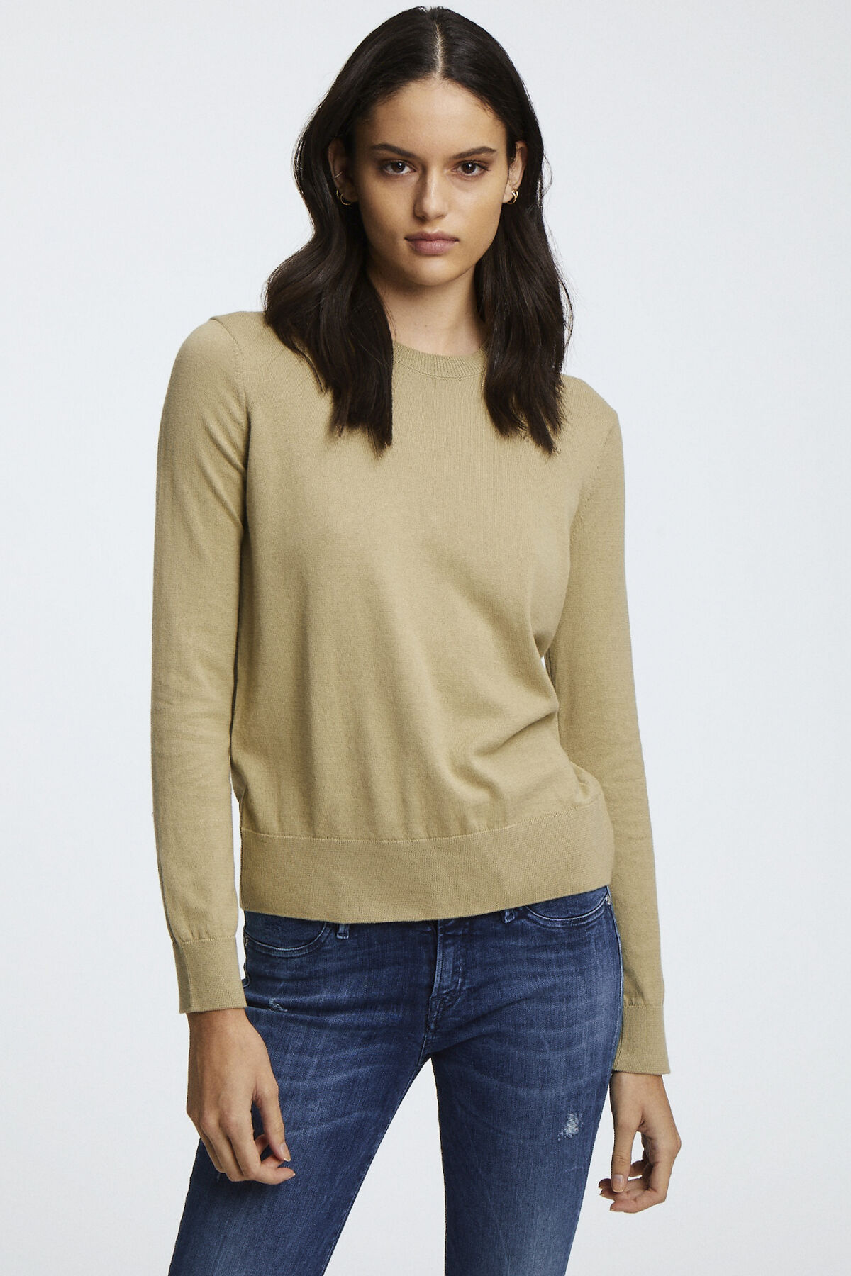 TAYLOR CREW NECK Pure Cotton - Oversized Fit