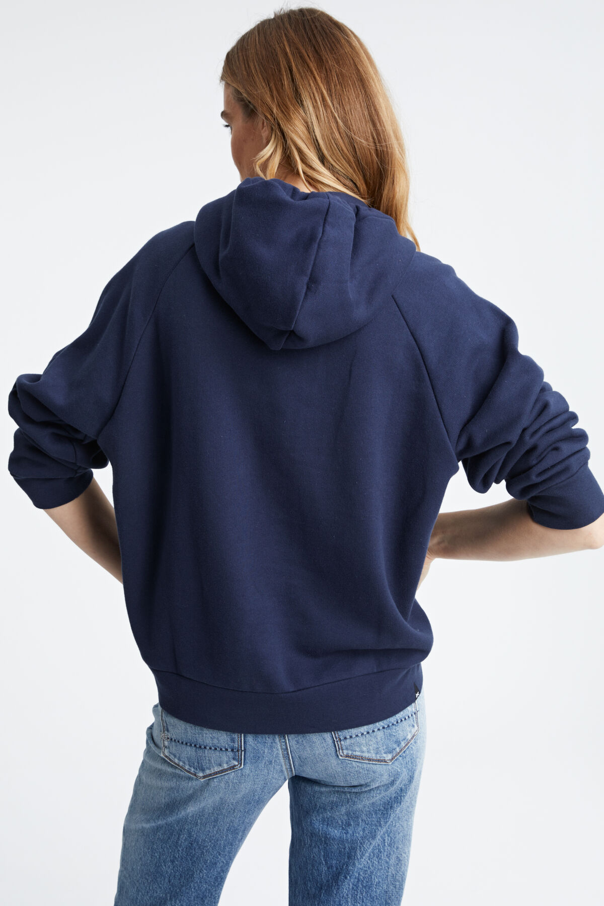 GLASS HOODY Brushed back premium cotton - Oversized Fit
