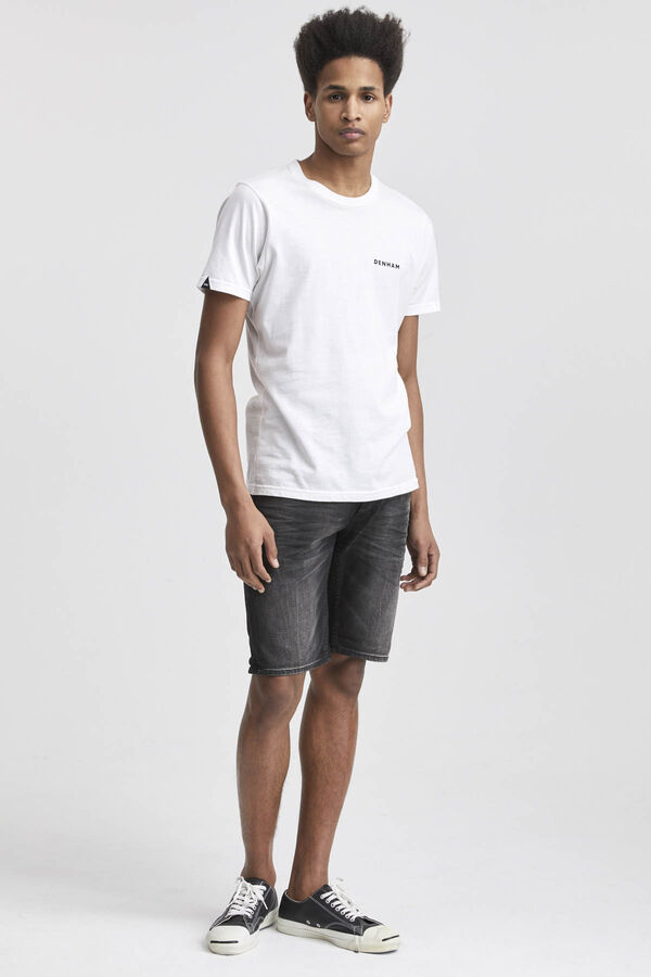 RAZOR SHORT Soft Fade Denim - Slim Fit