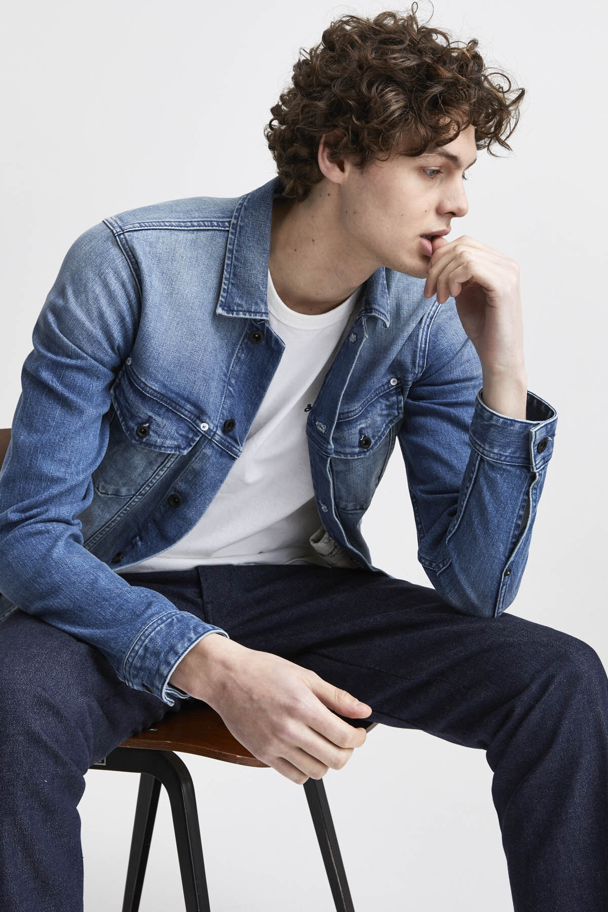 AMSTERDAM POCKET Comfort Denim - Slim Fit