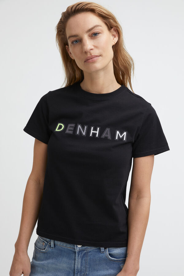 WOMENS 95 TEE DENHAM brand name - Regular Fit