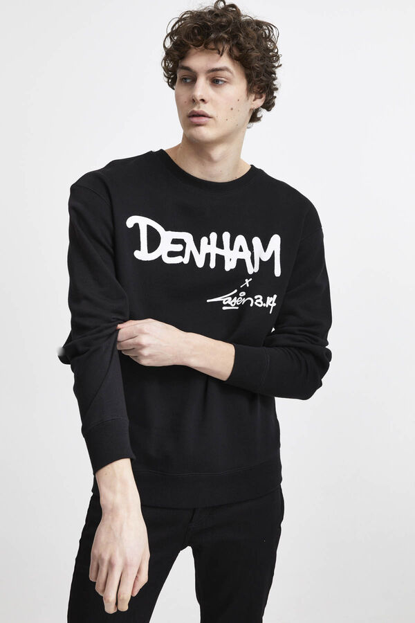 DENHAM X LASER SWEAT PRSU