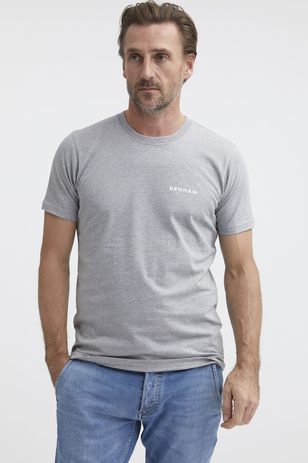 BRAND TEE Soft Cotton Jersey - Slim Fit