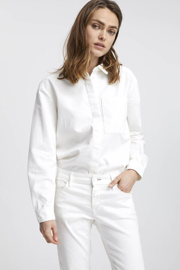 HENSON SHIRT Soft Cotton Twill - Oversized Fit