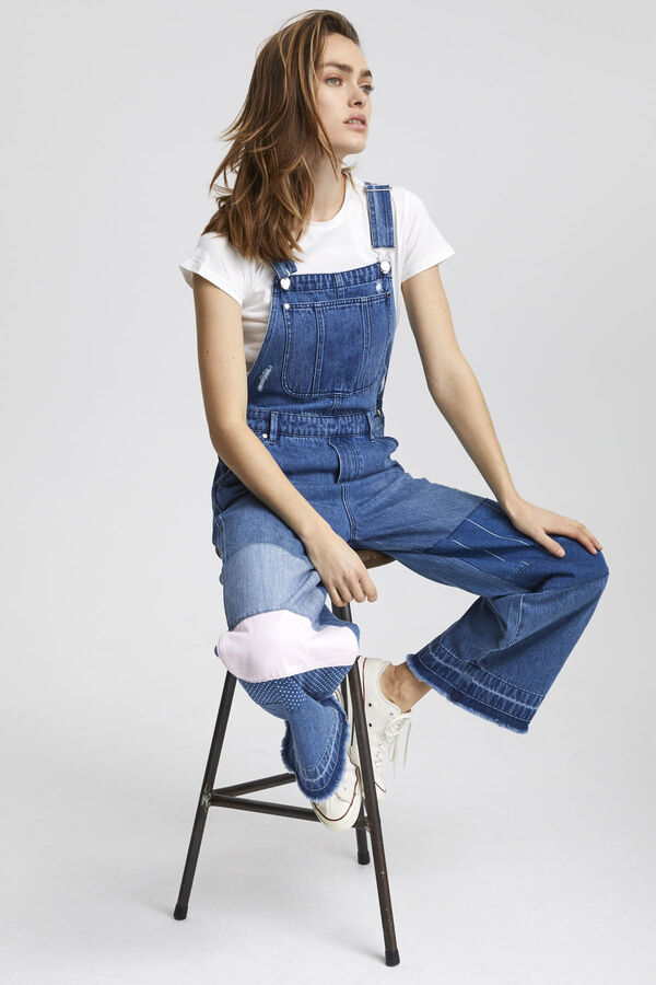 DUNGAREE Patchwork Denim - Regular Fit