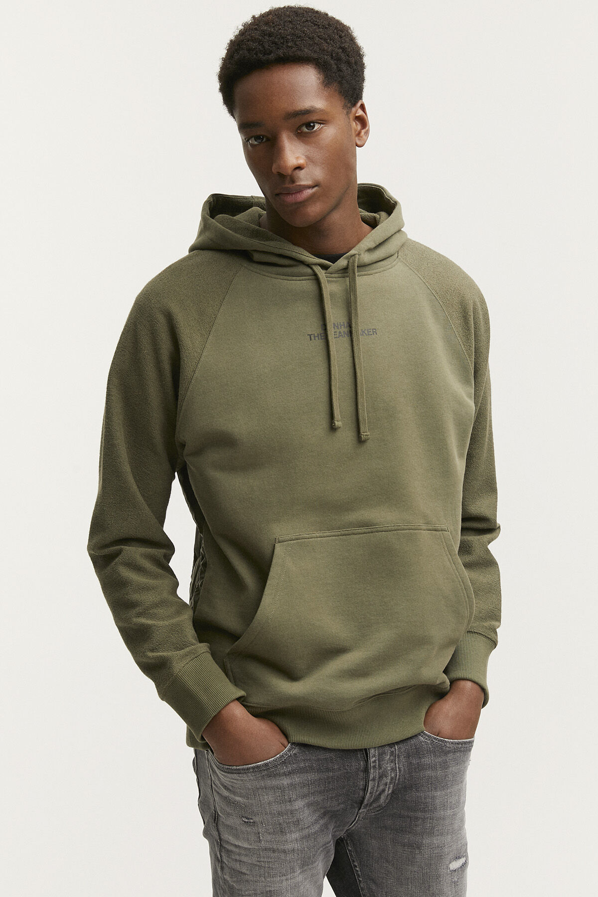 STAPLETON HOODY Quilted Back Panel - Boxy Fit