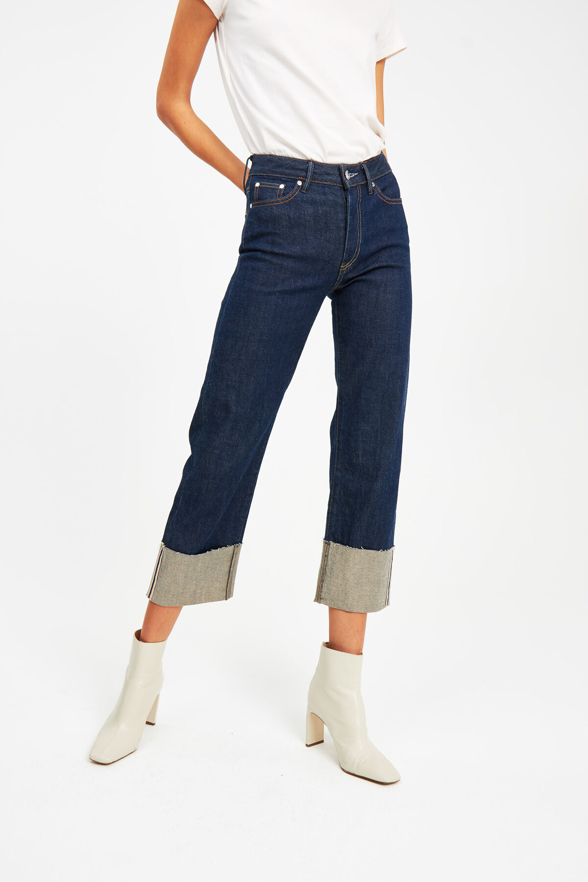 KELLY Selvedge denim - Wide Leg Fit