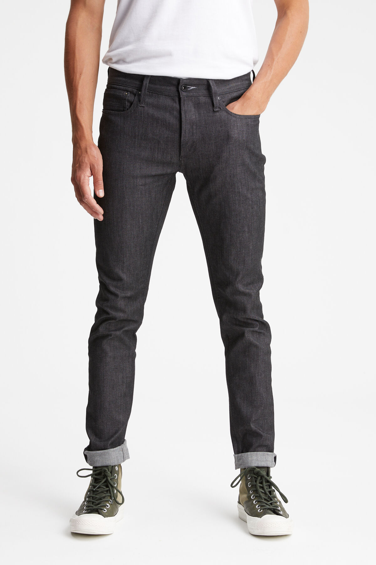 BOLT Black Rinse Washed - Skinny Fit