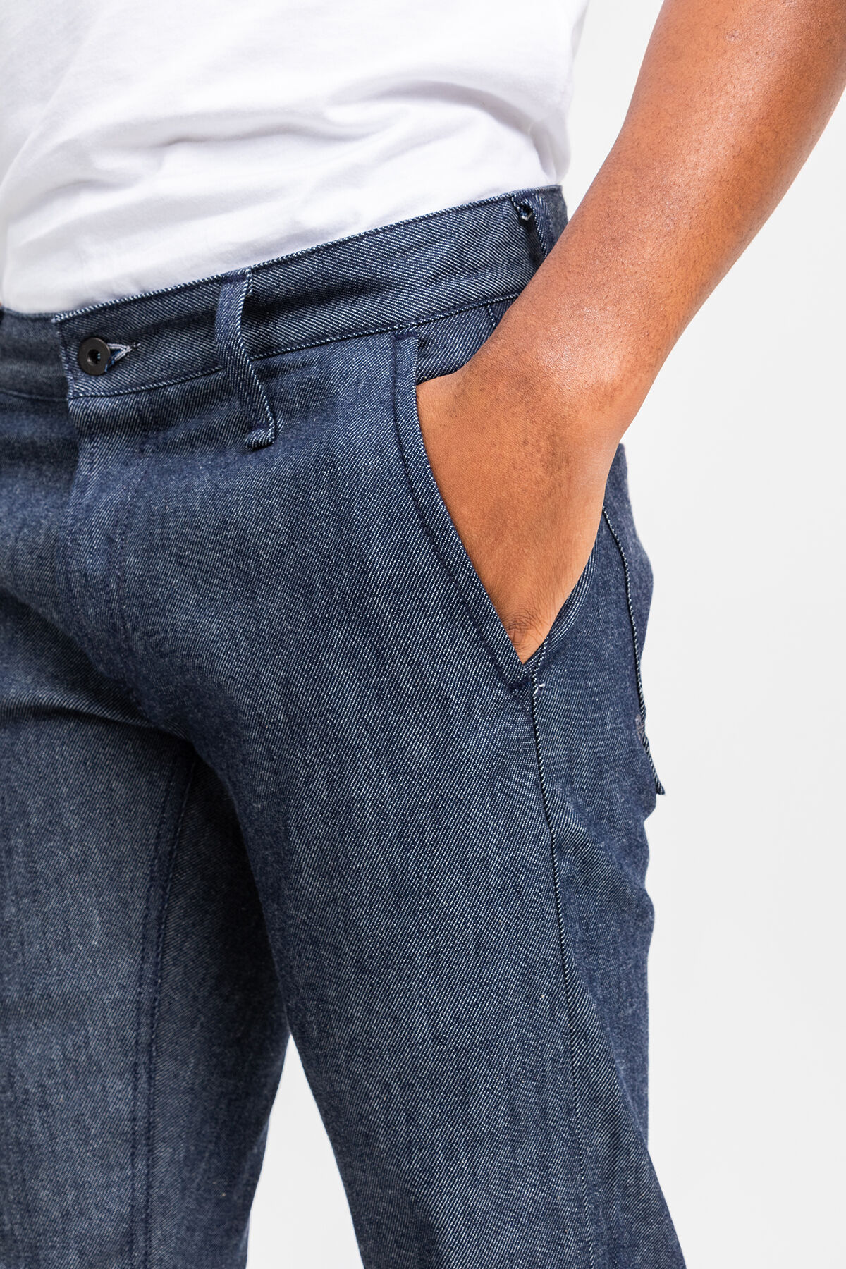 YORK Bio-stretch, Virgin Selvedge Denim - Slim, Tapered Fit