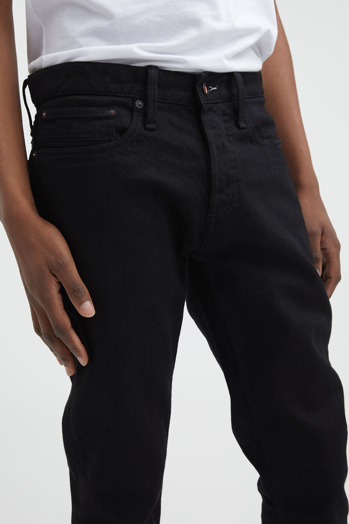 RAZOR Double Black Stretch Denim - Slim Fit