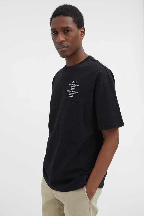 HUDSON TEE Cotton Jersey - Boxy Fit