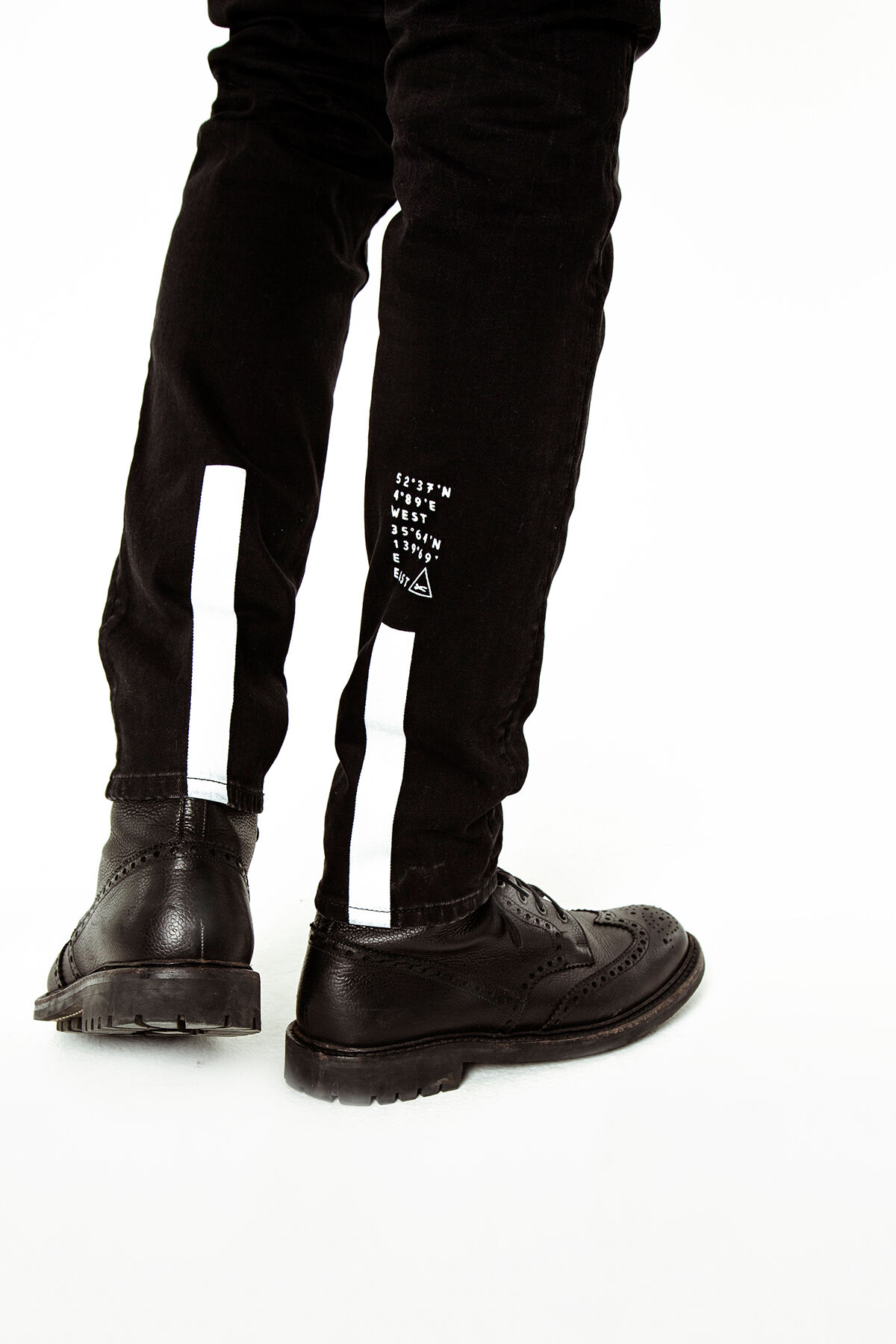 YORK Black comfort stretch - Slim, Tapered Fit