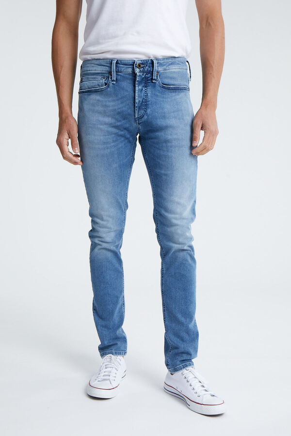 BOLT Light, Fresh Blue Denim - Skinny Fit