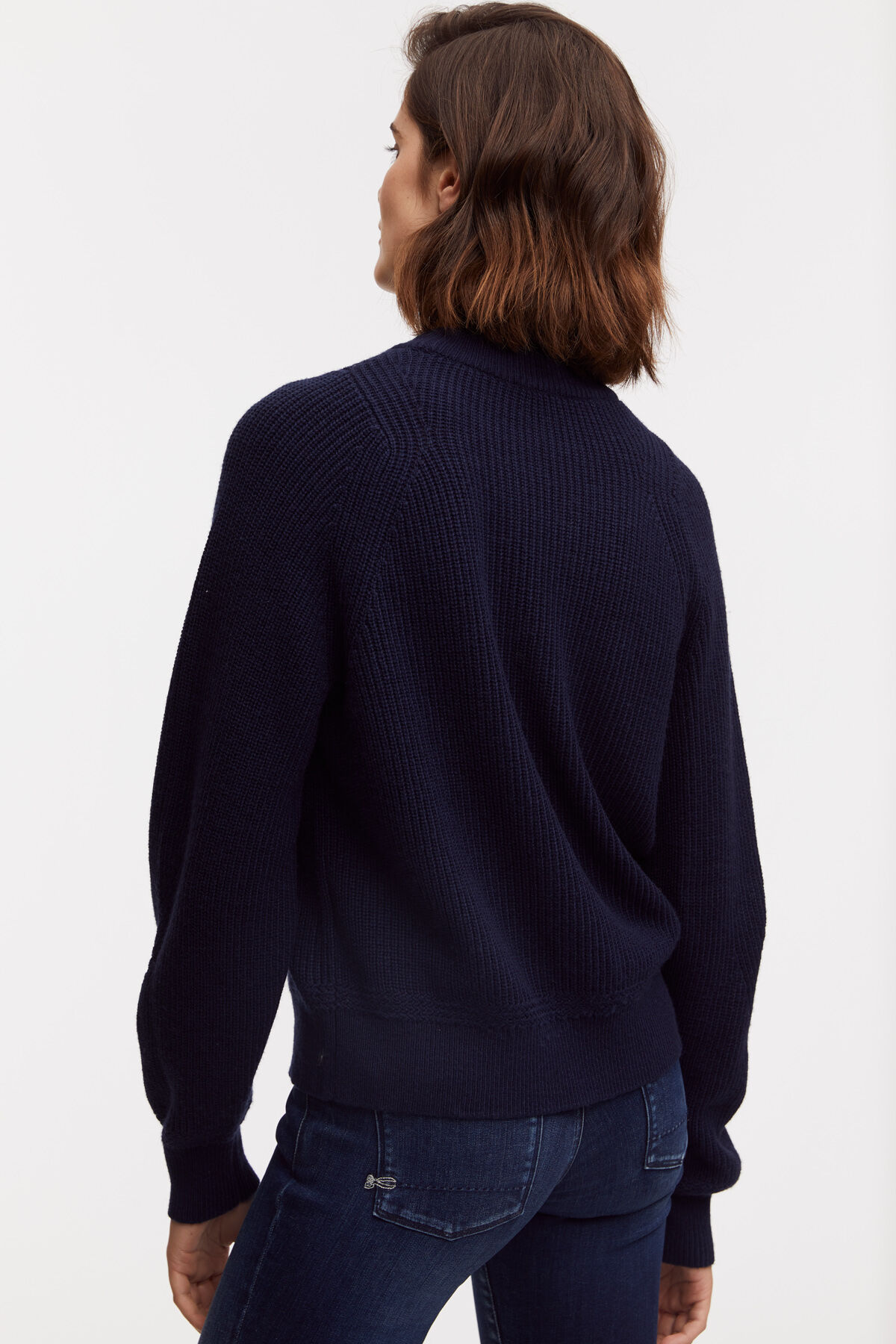 TRUDY JUMPER Premium Wool Blend - Oversized, Cropped Fit
