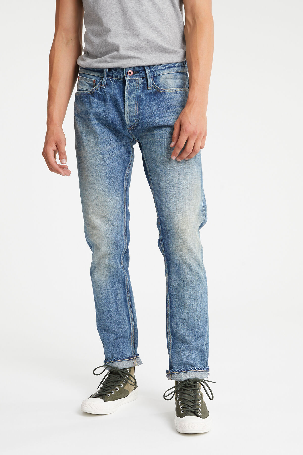 FORGE Mid-washed, Selvedge Denim - Relaxed Fit