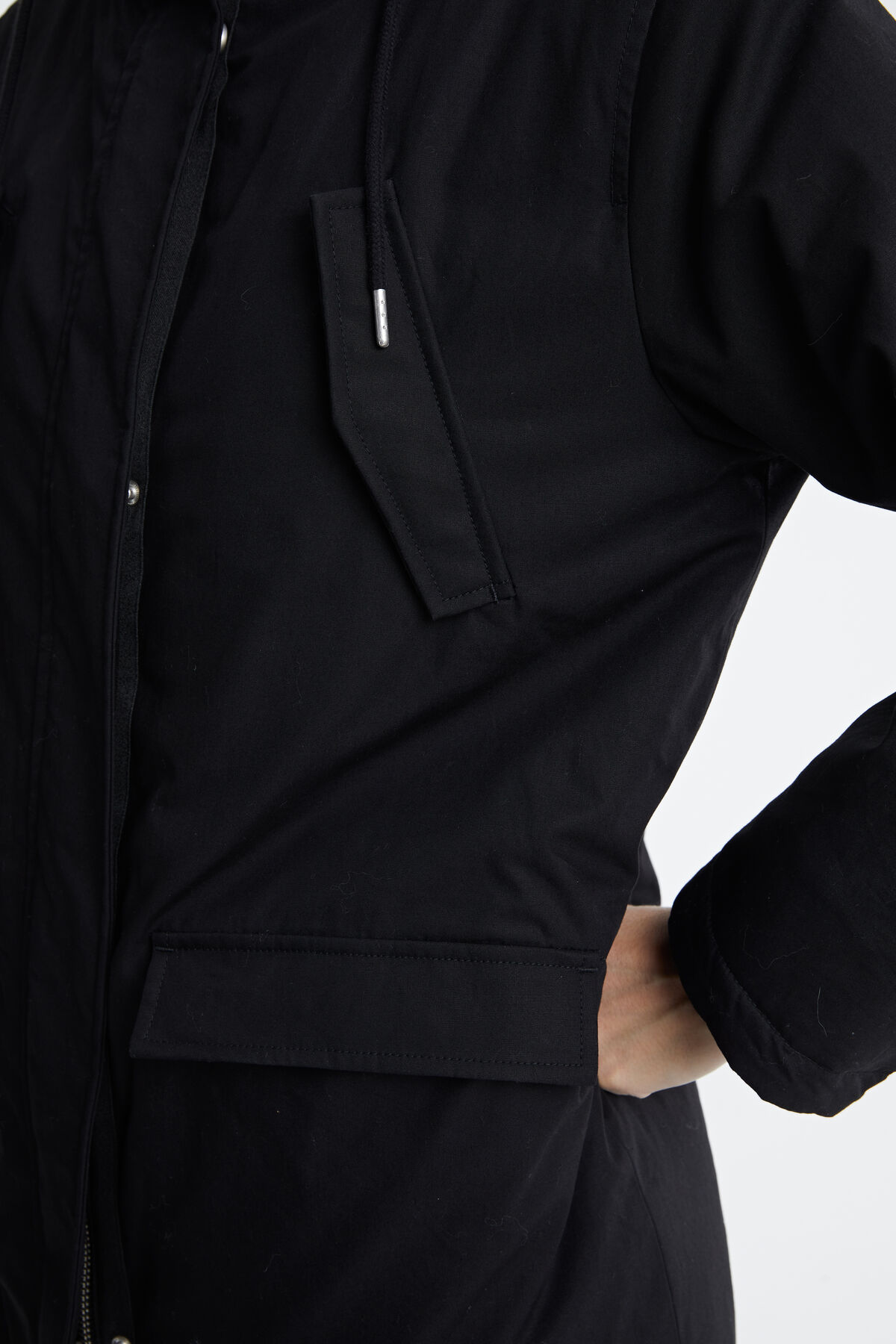 GOLDWICK PARKA Softshell & padded lining - Relax Fit
