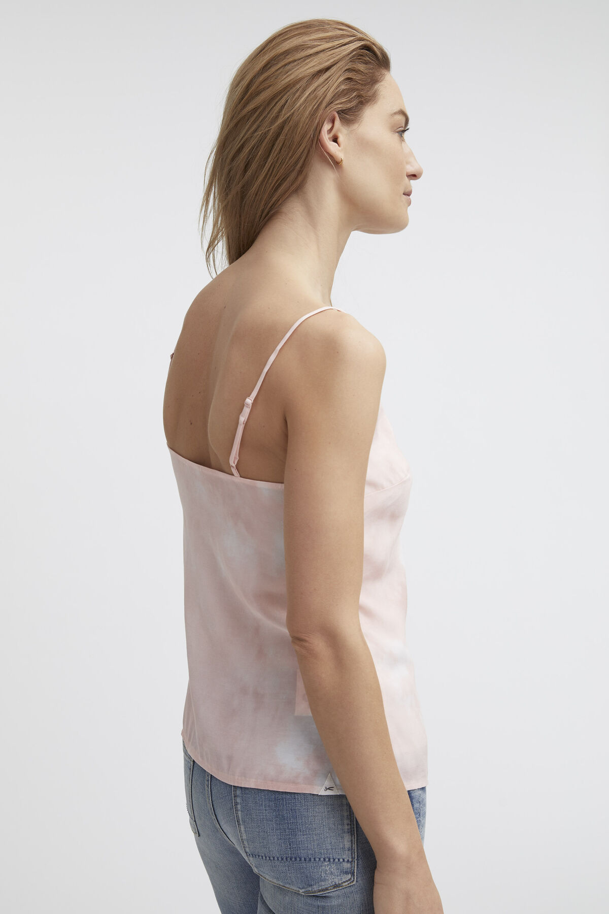 ROSE TOP Silk Touch Cupro - Slim Fit
