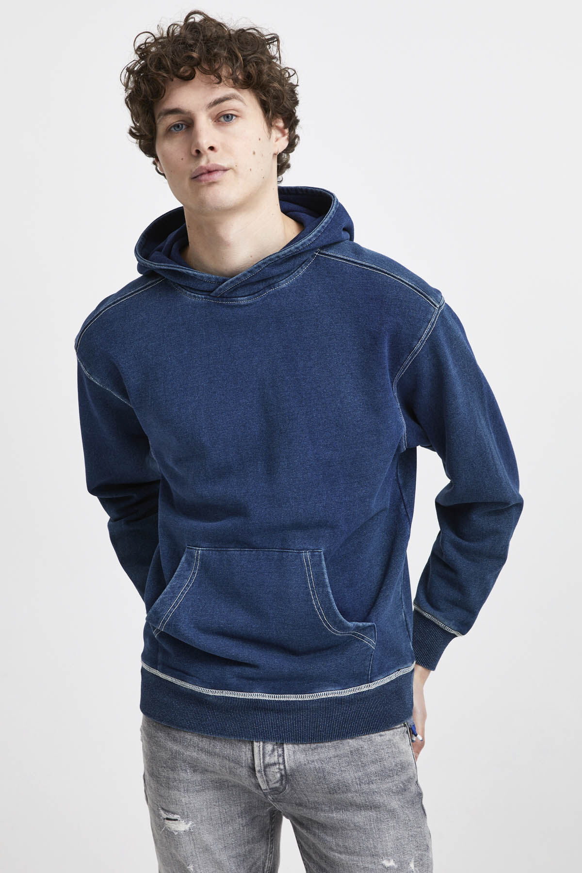 AMERICANA HOODY Loopback Fleece - Americana Fit
