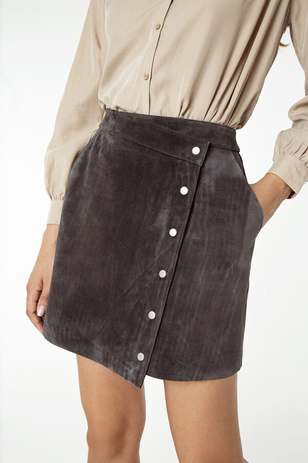 SHOTO SKIRT Suede - Mini