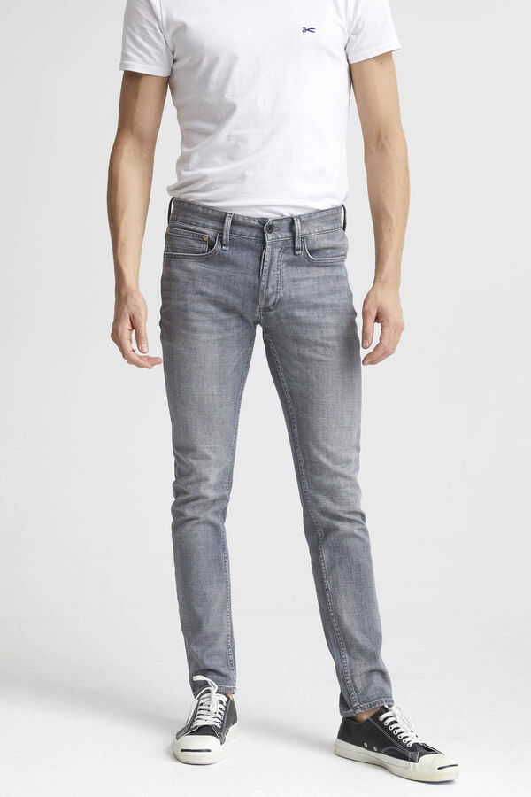 BOLT Left-hand, Lightweight Grey Denim - Skinny Fit