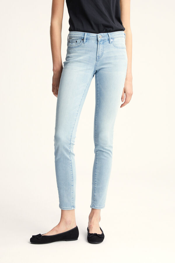 SHARP Lightweight, Cool Blue Denim - Mid-rise, Skinny Fit