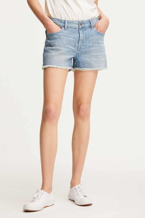 MONROE SHORT Light Blue Denim