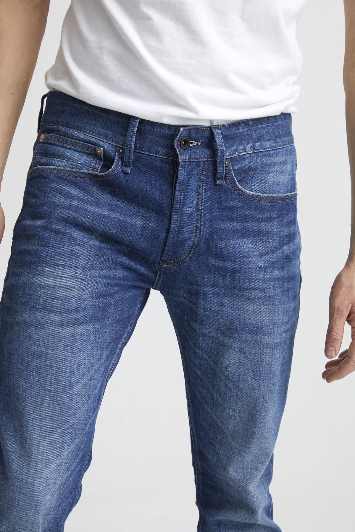 BOLT Left-Hand, Indigo Stretch Denim - Skinny Fit