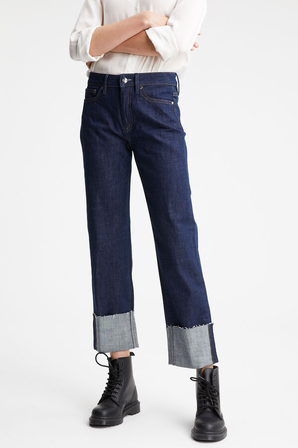 KELLY Sustainable Indigo Denim - HIGH-RISE, WIDE FIT