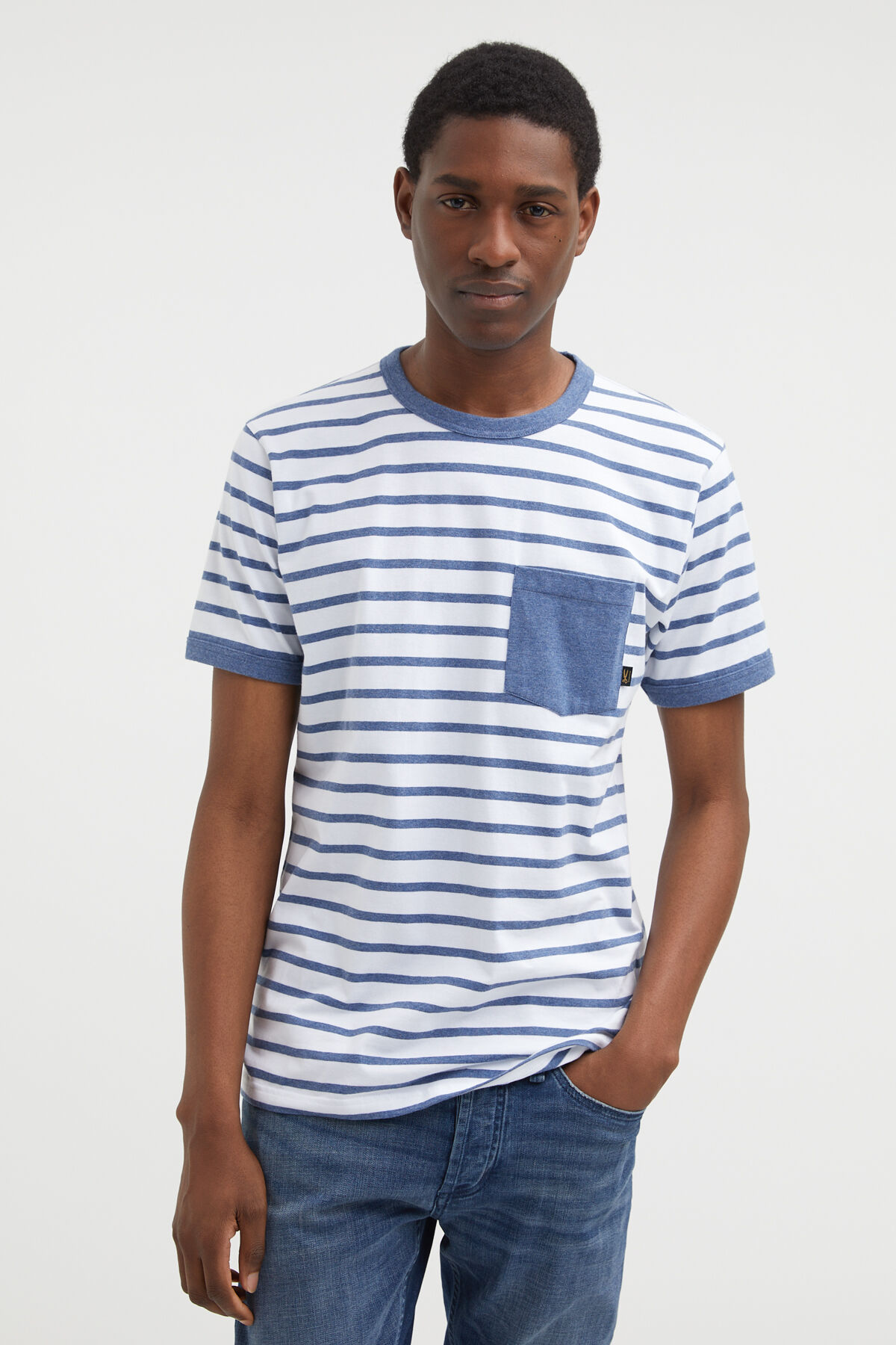 SAILOR TEE Lined Cotton - Regular Fit