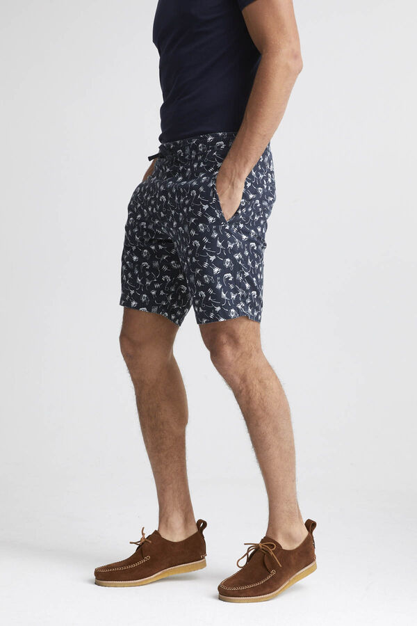 CARLTON SHORT Kite Print - Regular Fit