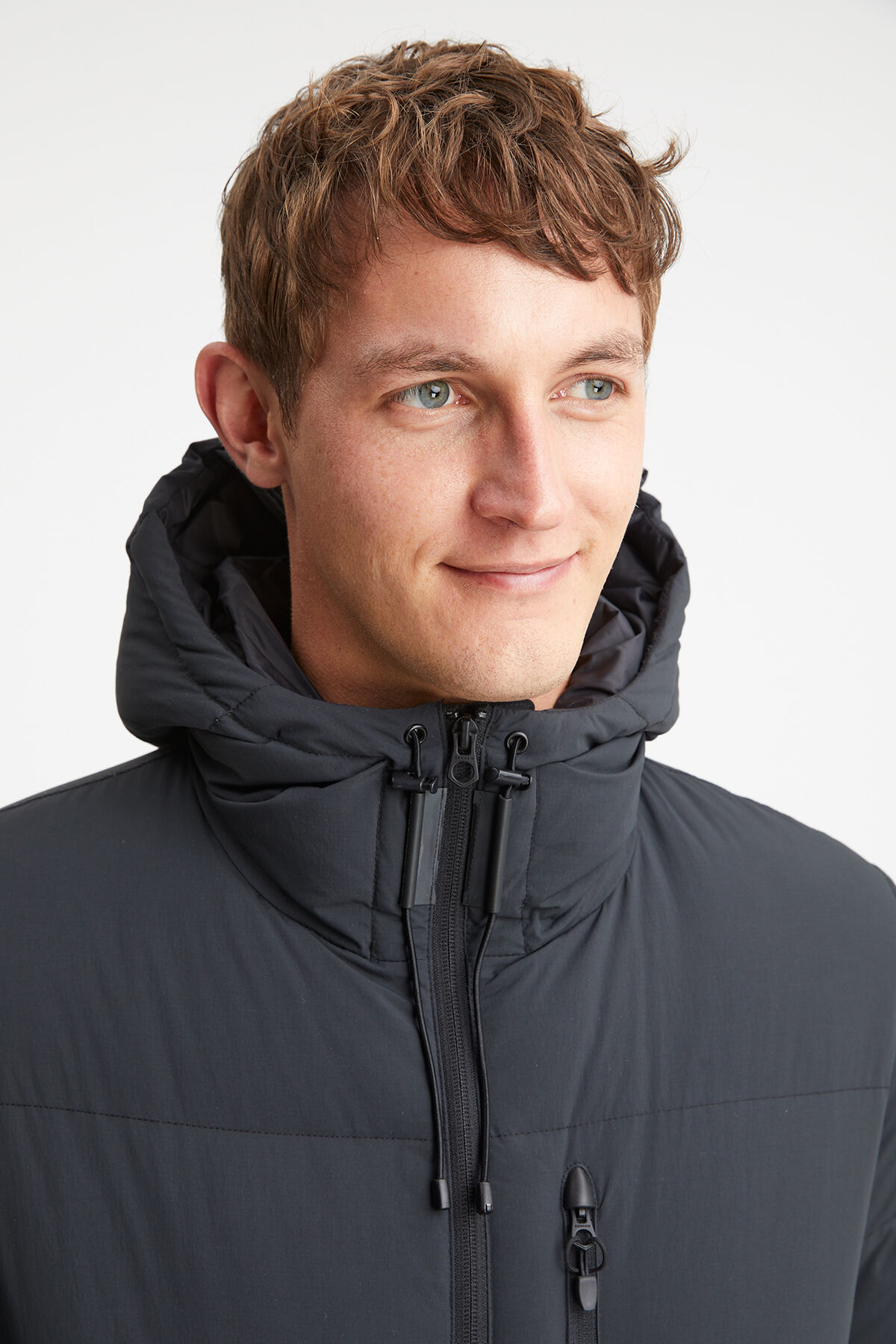 APPLEWOOD HOODED DOWN JACKET Recycled Nylon - Regular Fit