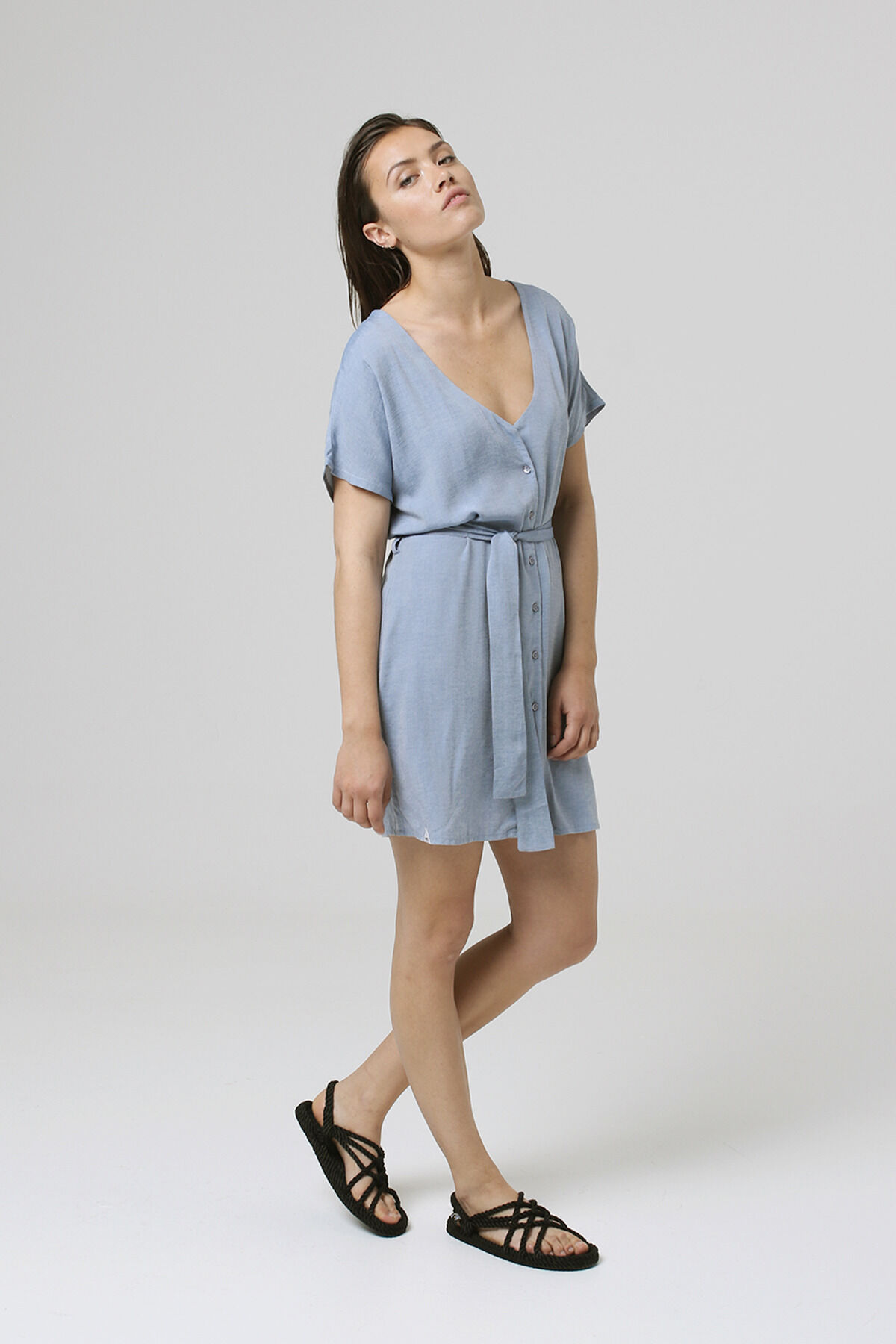 CARMEL DRESS Soft Cotton - Mini