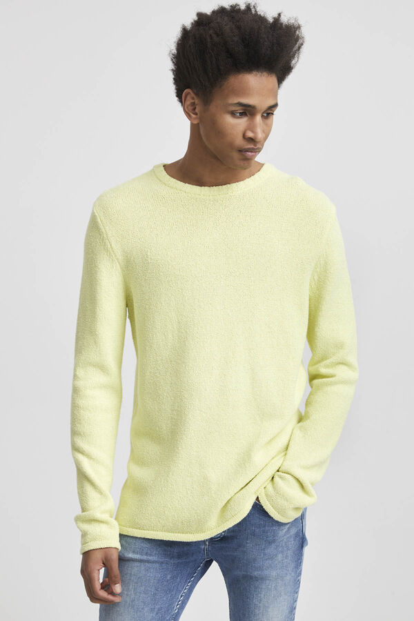 CASSIUS BOUCLE Summer Knit - Slim Fit
