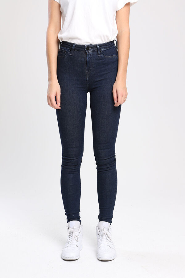 NEEDLE Indigo Dipped 18 Times Denim - High-rise Skinny Fit