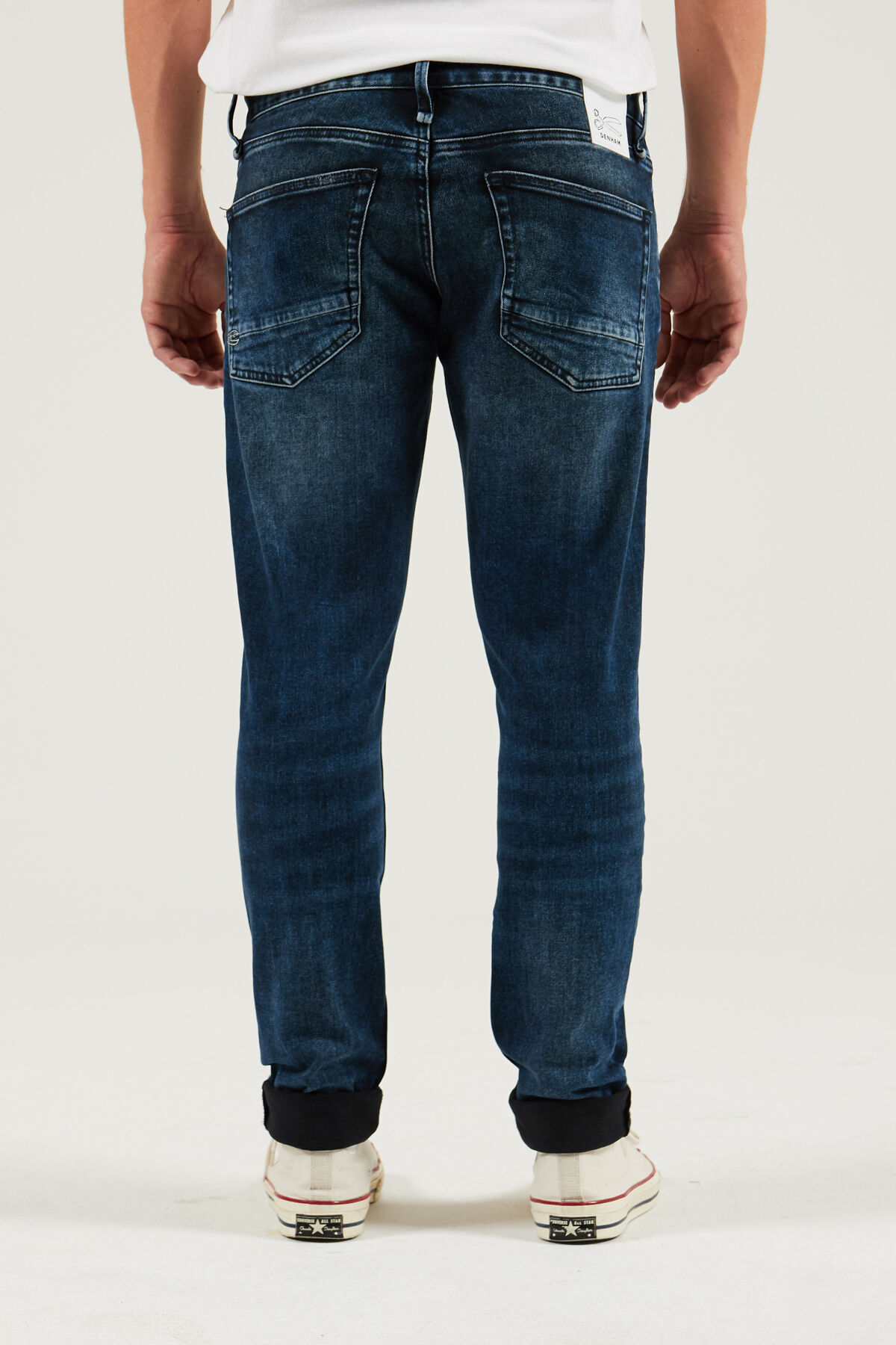 YORK Blue-black, black fade - Slim, Tapered Fit