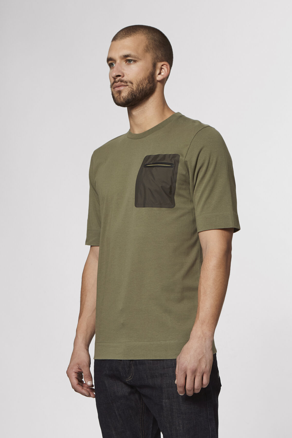 KURSK TEE Double-layered cuff - Regular Fit
