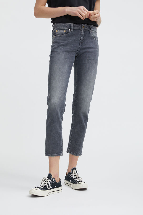 LIZ ANKLE Lightweight Denim - Straight Fit