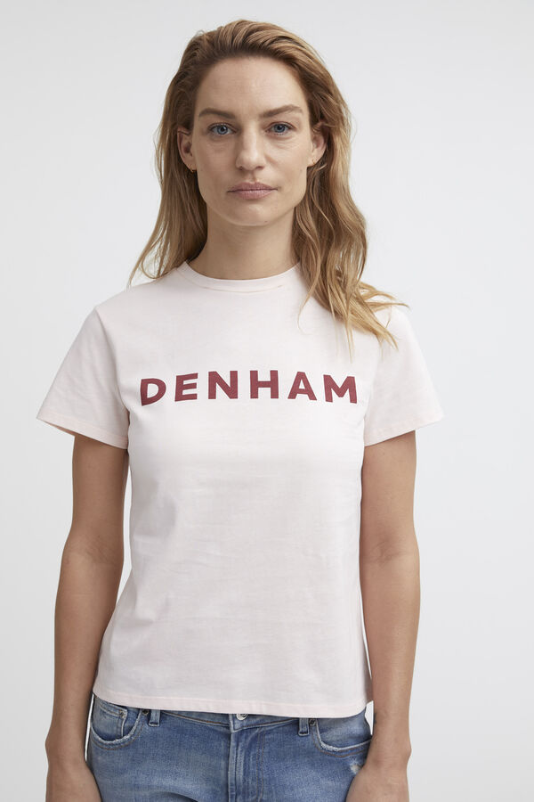 DENHAM CAMELLIA TEE Cotton Jersey - Regular Fit