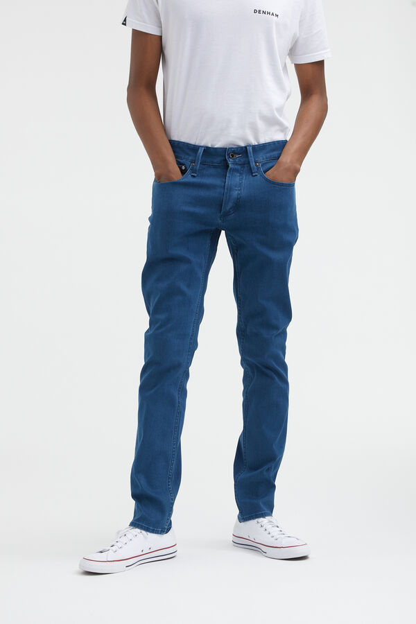 RAZOR Indigo/Grey Cast Denim - Slim Fit