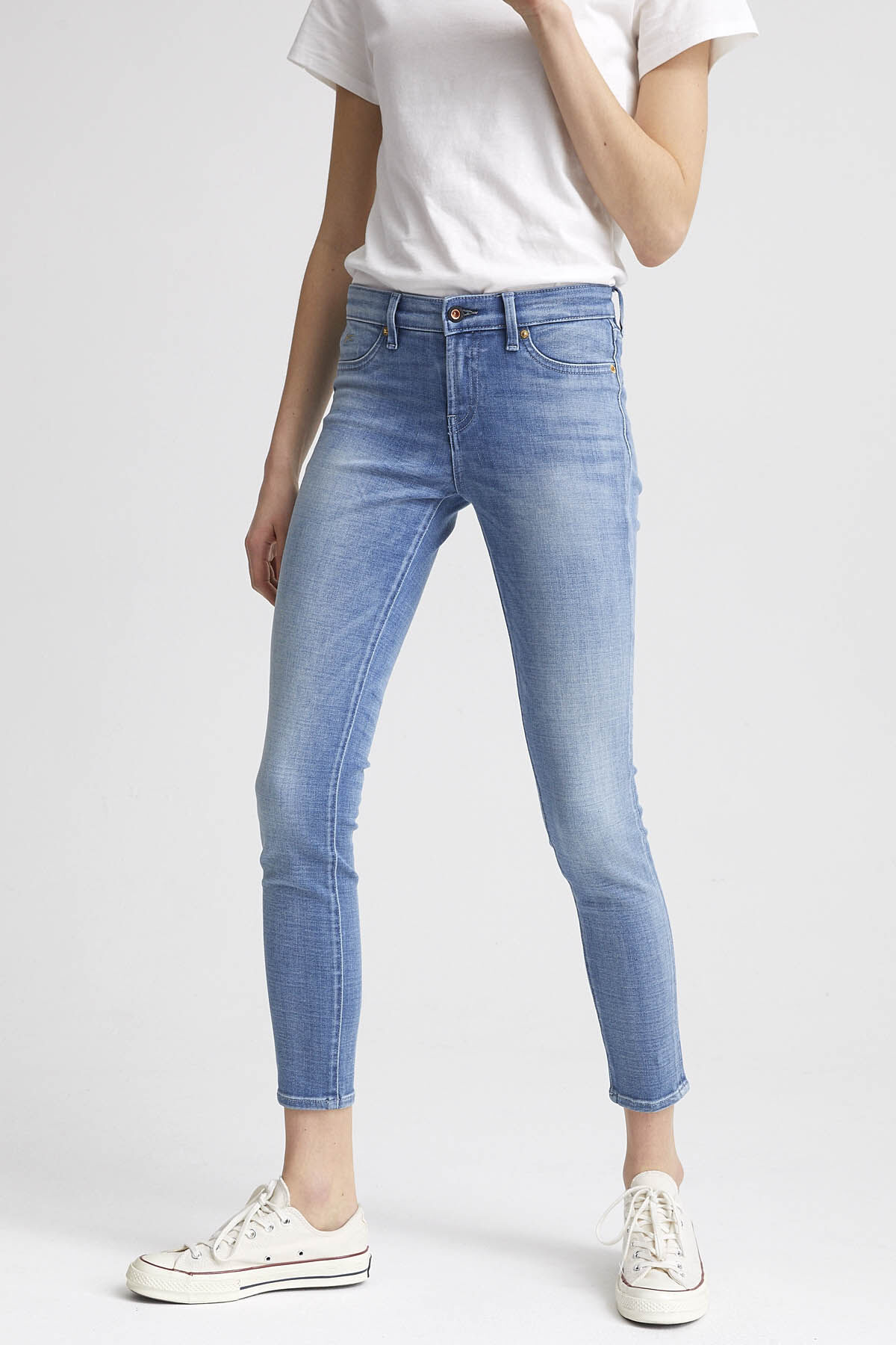 SPRAY Left-hand Denim - Mid-rise, Tight Fit