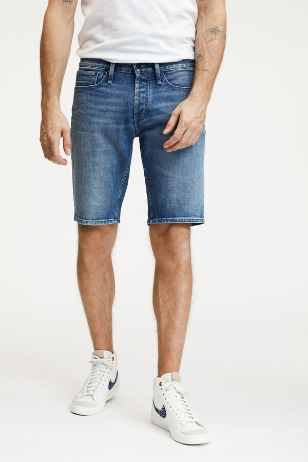RAZOR SHORT Dark Blue Indigo Denim