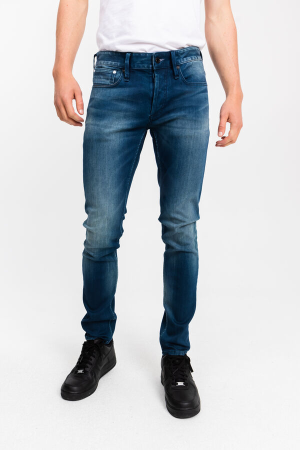 BOLT Hand Indigo Dyed Denim - Skinny Fit