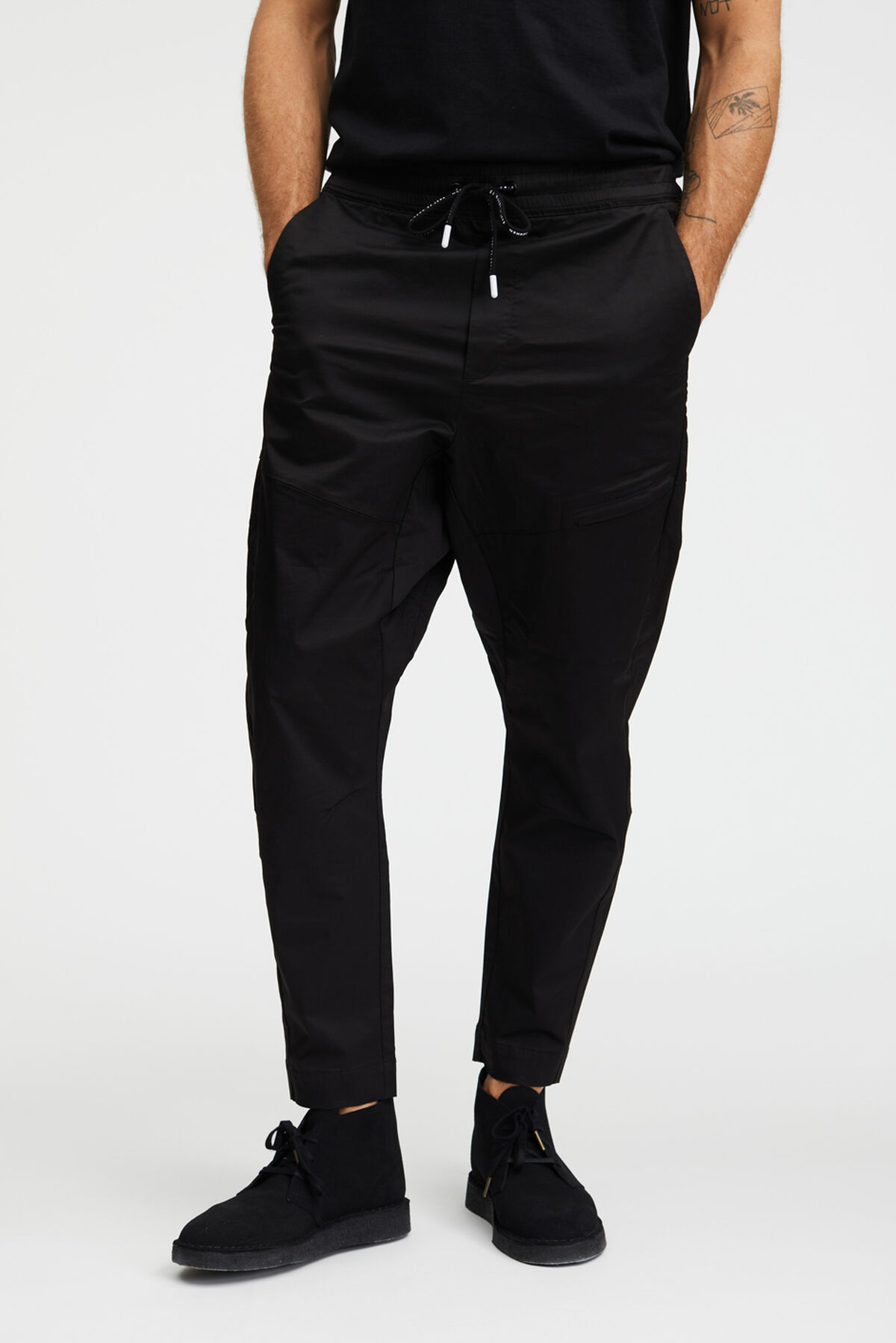 KOBE PANT Comfort Stretch Twill - Loose, Tapered Fit