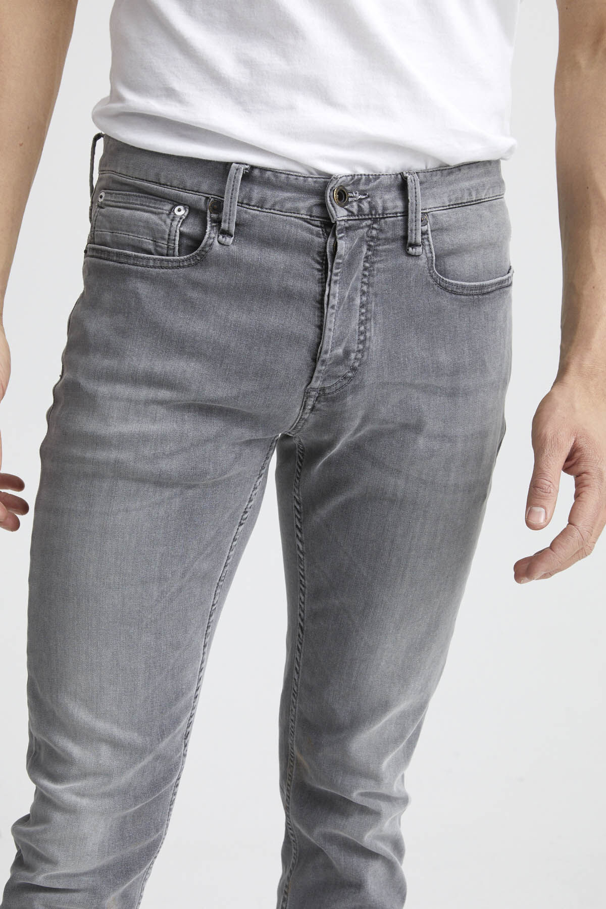 RAZOR Grey Soft Fade Denim - Slim Fit