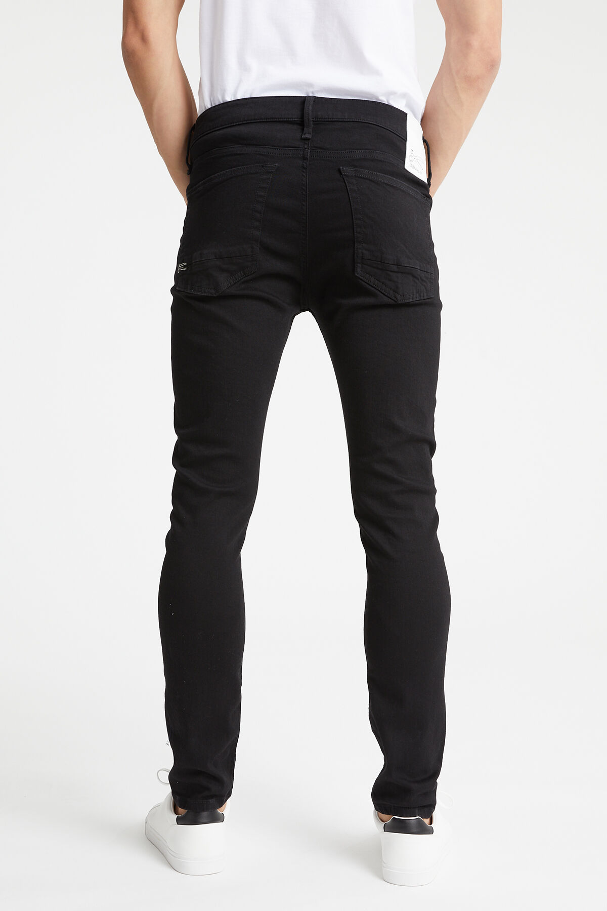 BOLT Stretch Black Denim - Skinny Fit