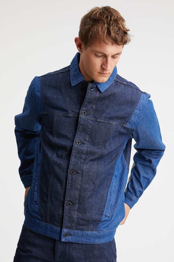 SPRINT JACKET 90MIX Sustainable denim - Regular Fit