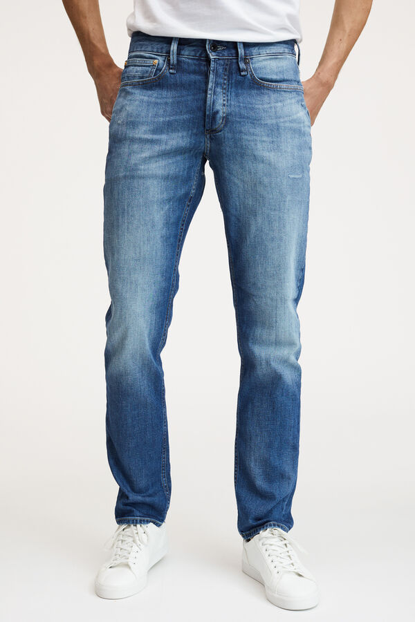 RAZOR Four-Year Indigo Denim - Slim Fit