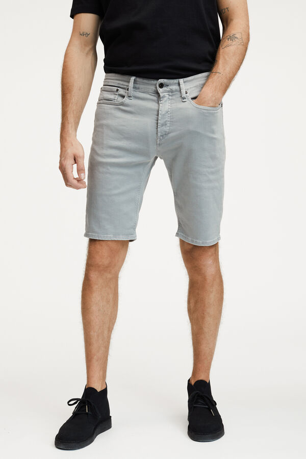 RAZOR SHORTS COTTON & TENCEL BLEND CHINO - SLIM FIT