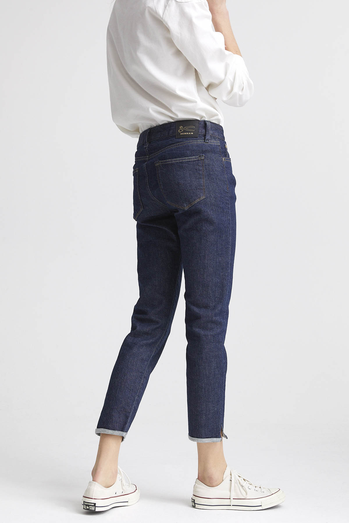 Liz Ankle - Slim Straight Fit Jeans - Detail